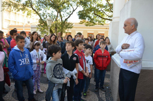 Catequizandos São Sebastião Porta Santa