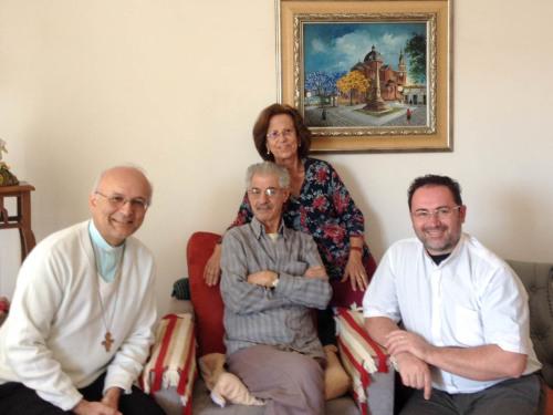 Visita padre Chico