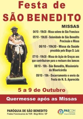 Paróquia São Benedito Mogi Mirim