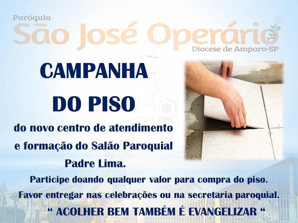 Diocese De Amparo Par Quia S O Jos Oper Rio Promove
