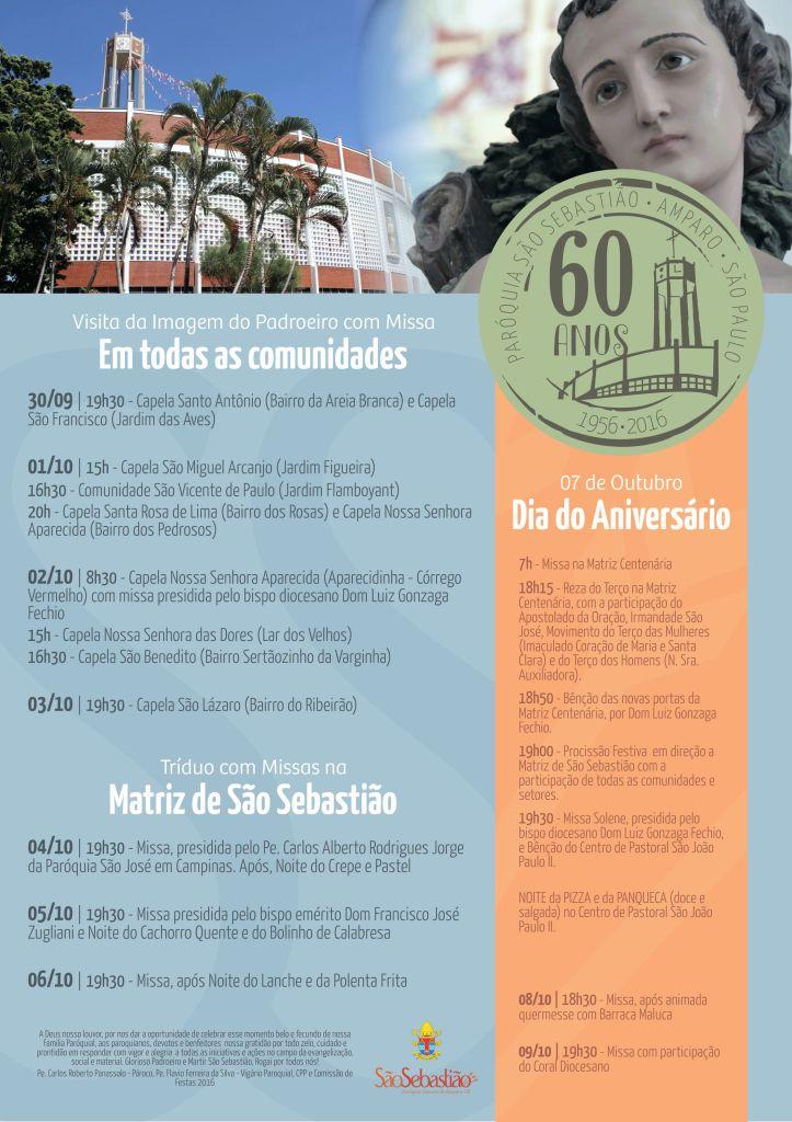 cartaz 60 anos