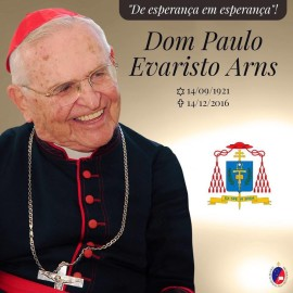 Cardeal Paulo Evaristo Arns