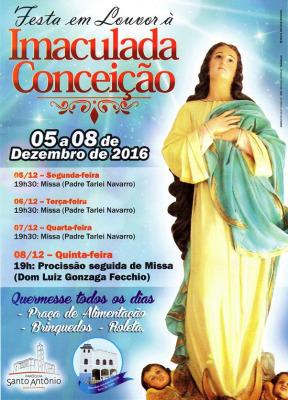 festa Imaculada Conceição