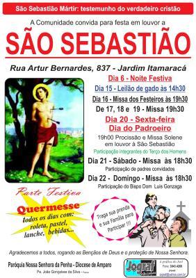 festa São Sebastião_Itapira