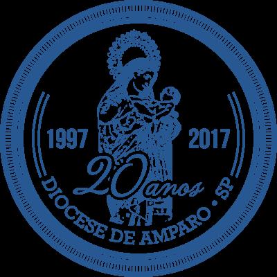 logo 20 anos da Diocese de Amparo_png