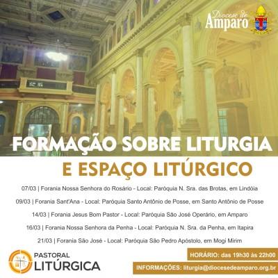 formação liturgia