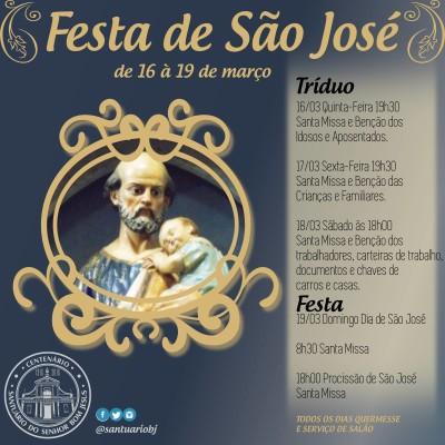 Festa de São José_santuário