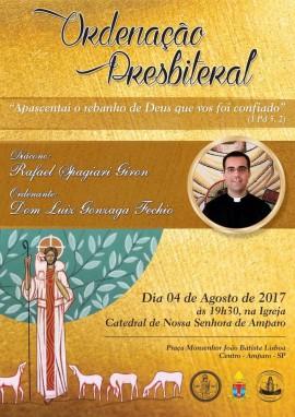 Ordenação Presbiteral  Diácono Rafael