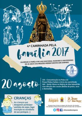 CAMINHADA DA FAMÍLIA 2017