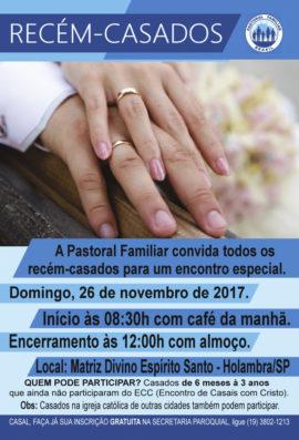 Convite recém casados Holambra