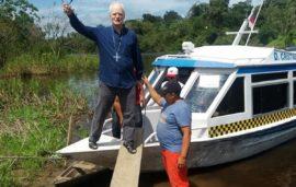 Arcebispo SP visita Amazonas