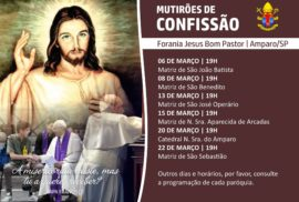 Confissões Jesus Bom Pastor