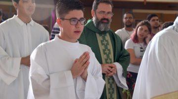 João Félix seminarista