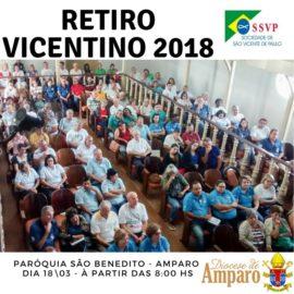 Retiro vicentino 2018