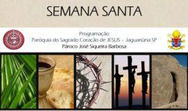 Semana Santa Sagrado Coração de Jesus – site