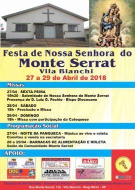 Festa Monte Serrat 2018