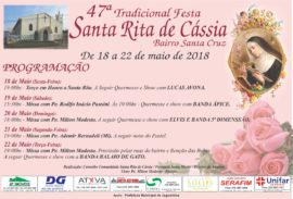 Festa Santa Rita em Jaguariúna