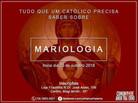 Curso Mariologia_Com. Amor Fraterno