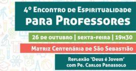 4º Encontro Paroquial de Espiritualidade com Professores – site