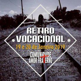 Comunidade Amor Fraterno_Retiro Vocacional 2019